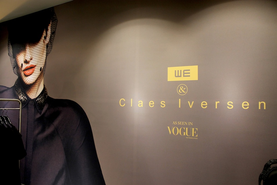 Claes Iversen x WE, a haute couture dress