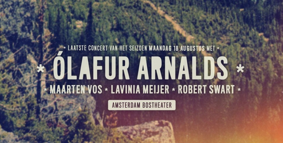 Live At Amsterdamse Bos concludes with introverted Icelandic genius Ólafur Arnalds