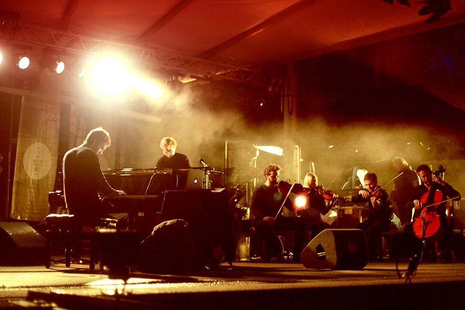 Ólafur Arnalds magically closes Live At Amsterdamse Bos