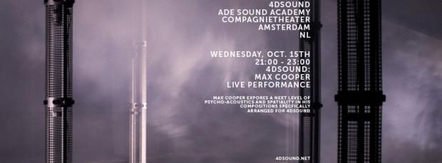 4DSOUND Max Cooper