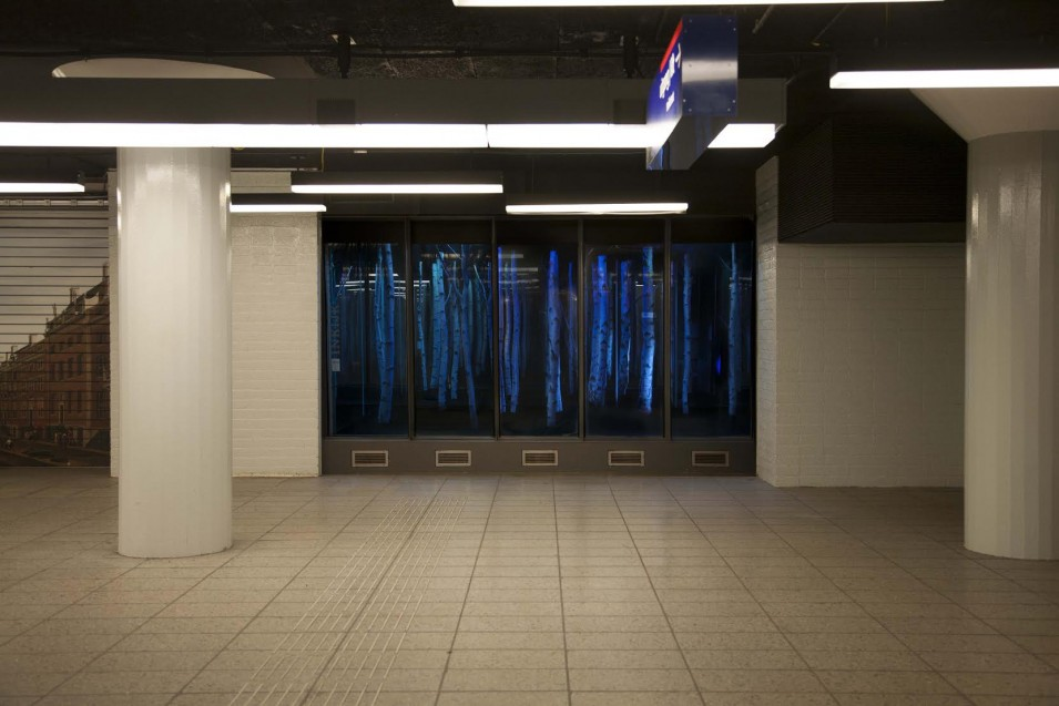 Get lost in Kairos, the mysterious metro station forest