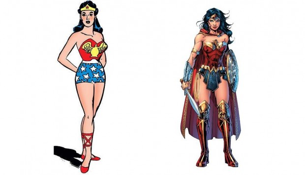Wonder Woman - Before '50s and now