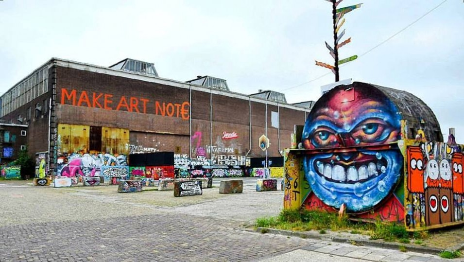 The biggest street art museum in the world is coming to life at NDSM