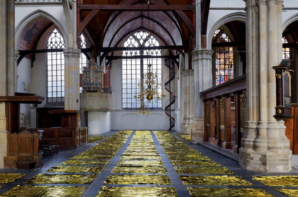 Sarah Van Sonsbeeck brings the sea back to the Oude Kerk