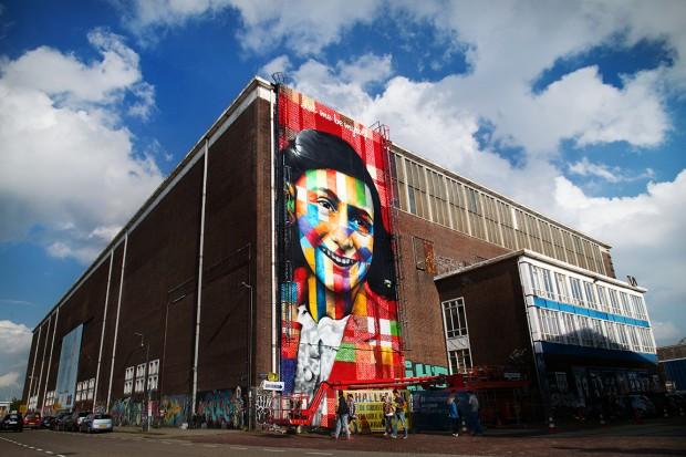 Anne Frank - NDSM-wharf