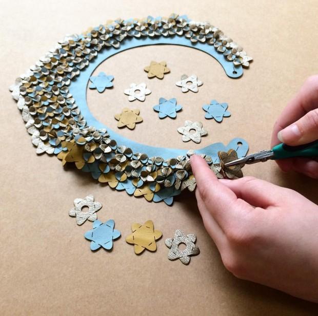 IRIS NIJENHUIS puzzle necklace